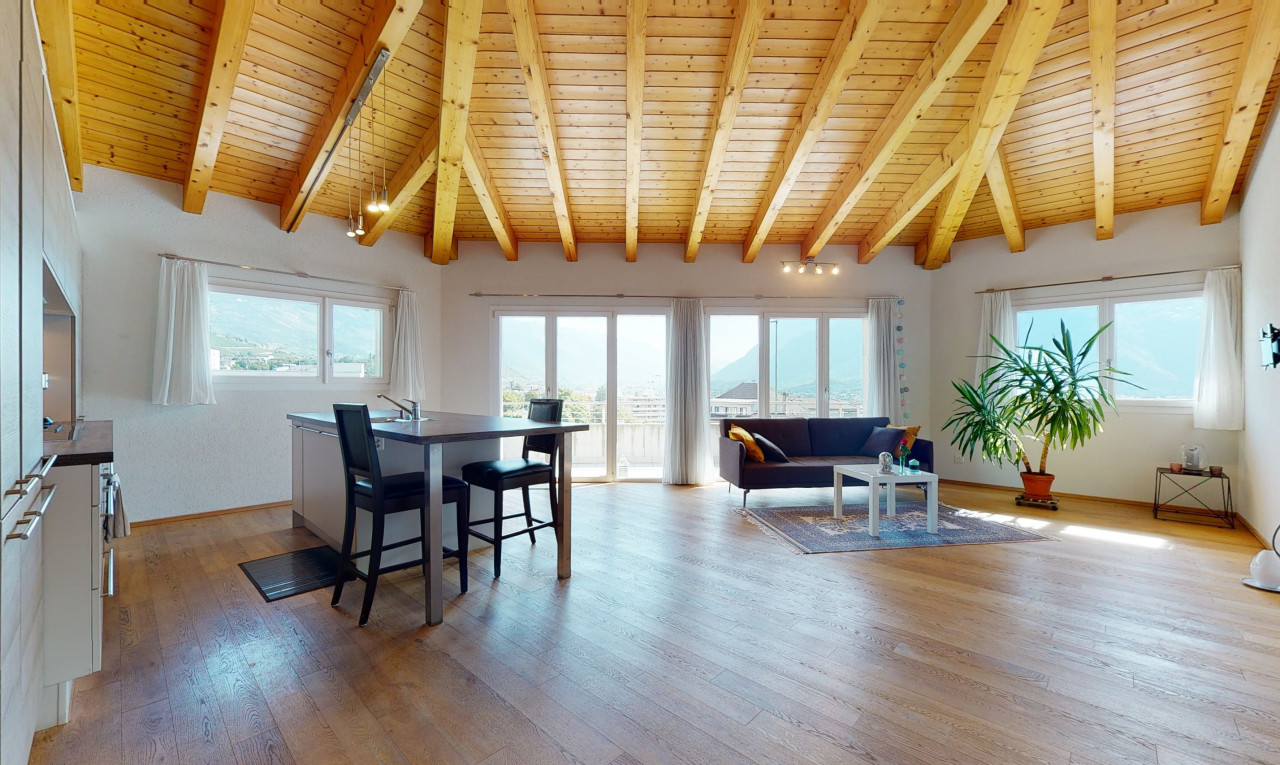 Apartment  for sale in Valais Sierre