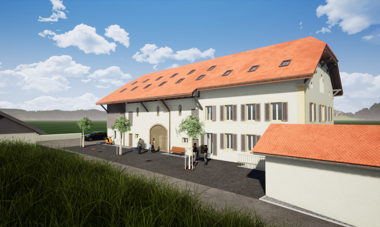 Immeuble de rendement  à vendre à Fribourg St-Aubin FR