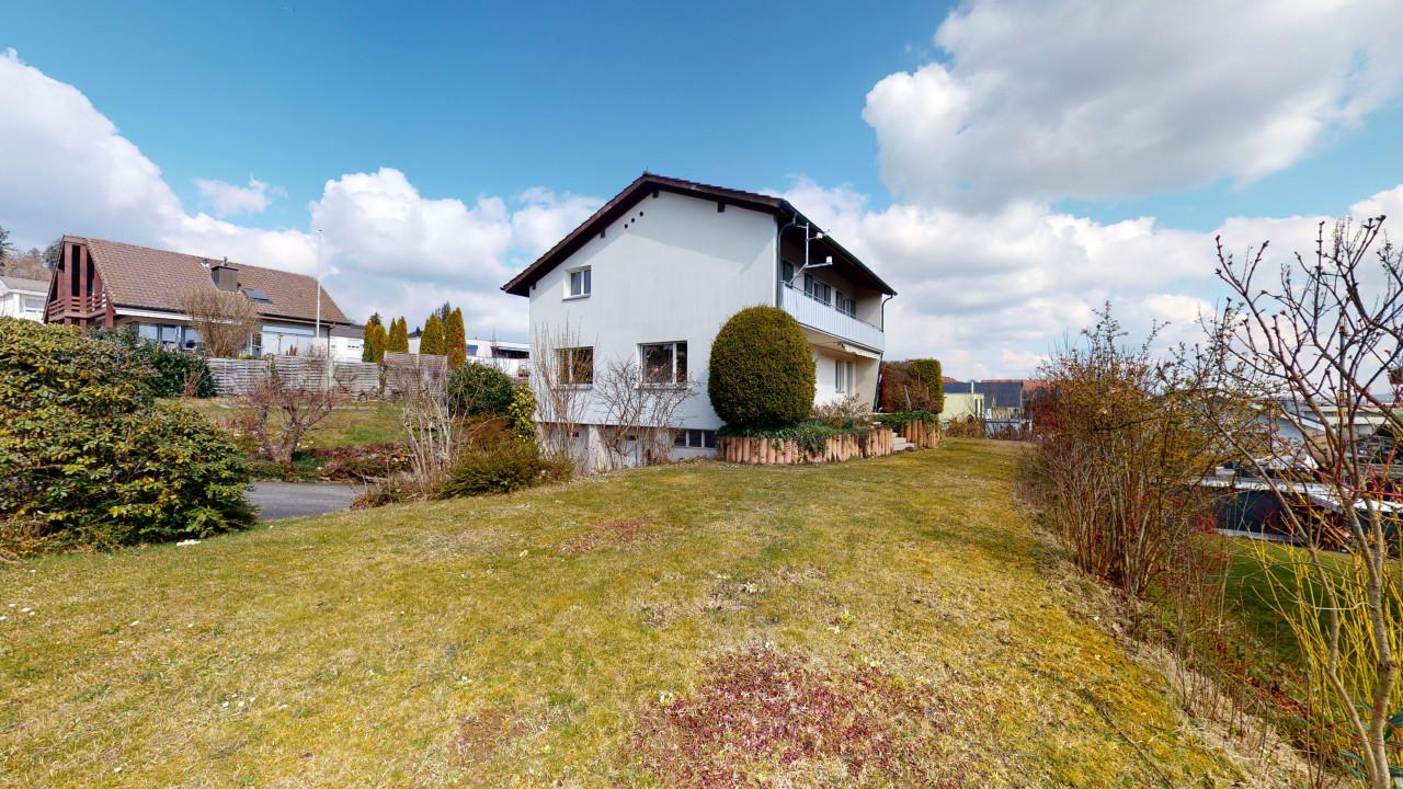 5½ Zimmer Einfamilienhaus mit schönem Garten und herrlicher Aussicht
