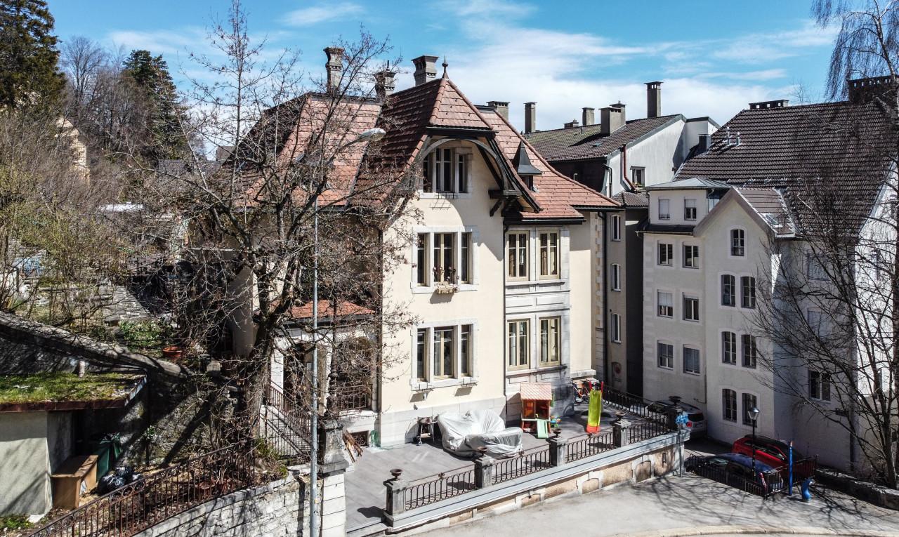 Immeuble de rendement à vendre à Neuchâtel Le Locle