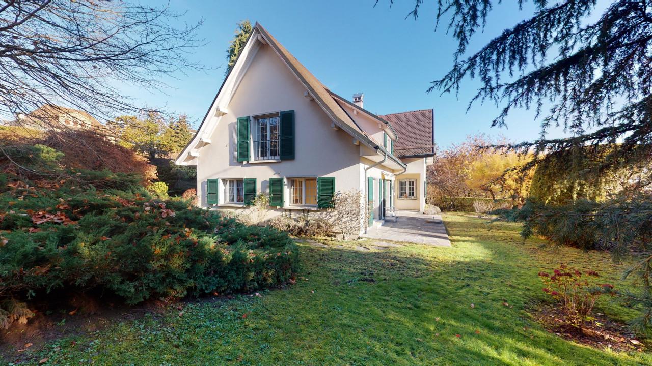 Grande maison familiale avec jardin à Lausanne