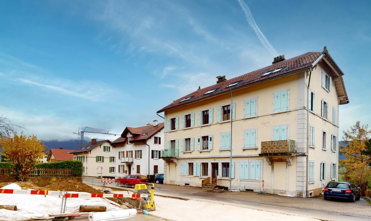 Immeuble de rendement à vendre à Neuchâtel Chézard-St-Martin