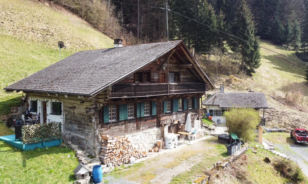 Maison  à vendre à Valais Val-d'Illiez