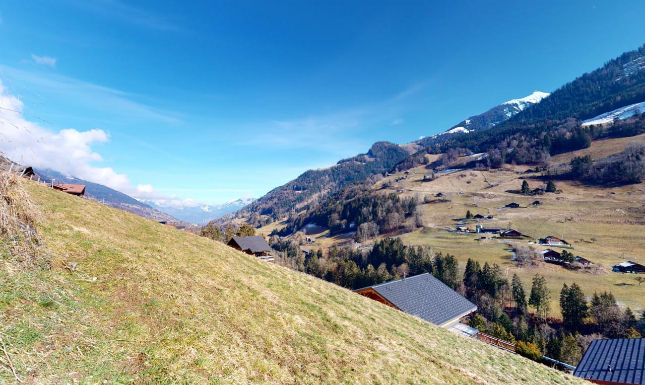 Achetez-le Terrain dans Valais Val-d'Illiez