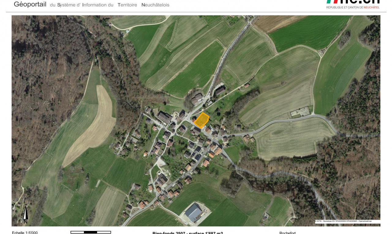 Buy it Land in Neuchâtel Rochefort