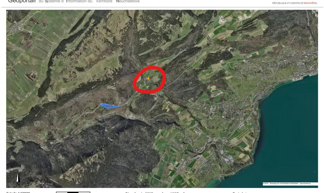 Land  for sale in Neuchâtel Rochefort