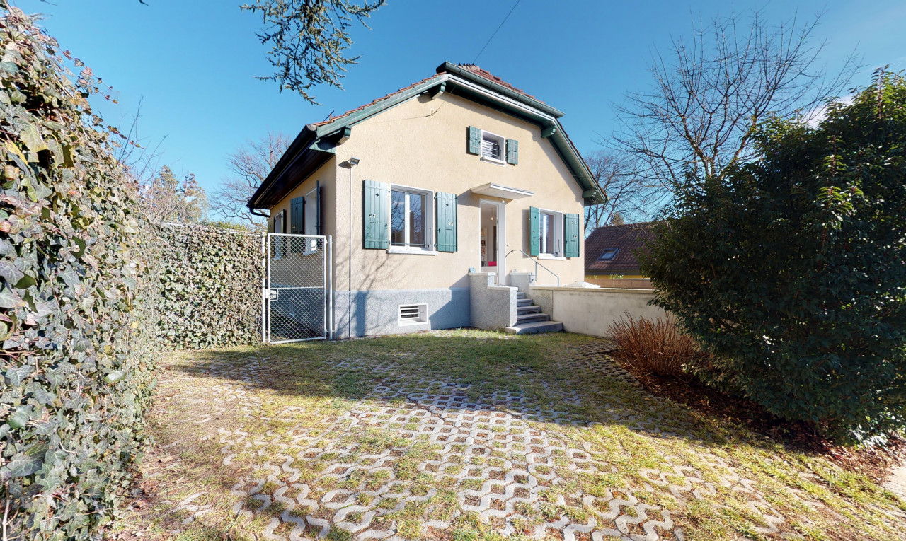 House  for sale in Geneva Chêne-Bougeries