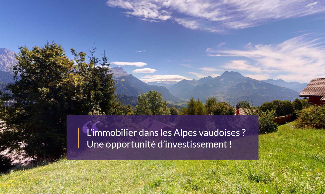 Land  for sale in Vaud Chesières