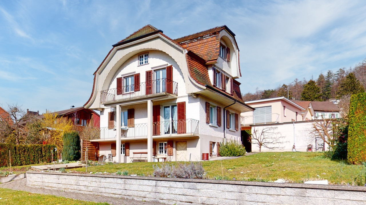 Freistehendes, charmantes Einfamilienhaus mit grossem Garten