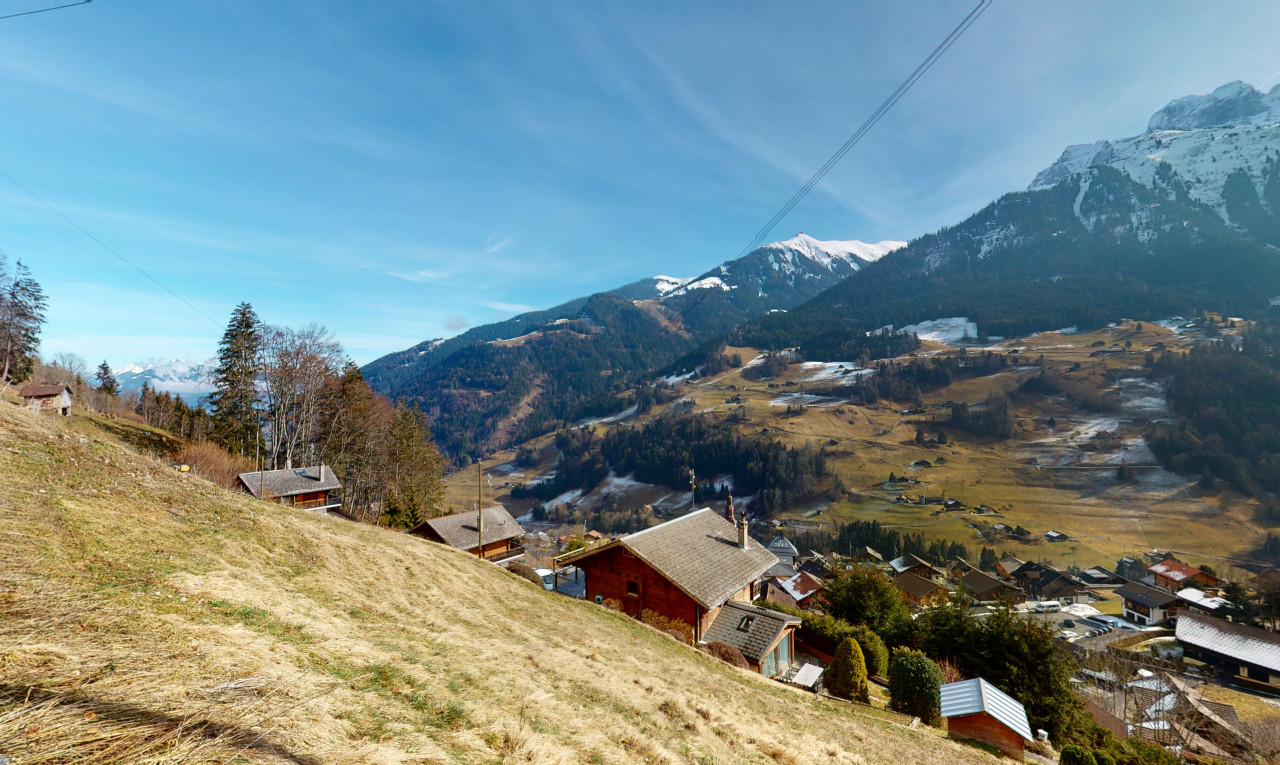 Land  for sale in Valais Val-d'Illiez