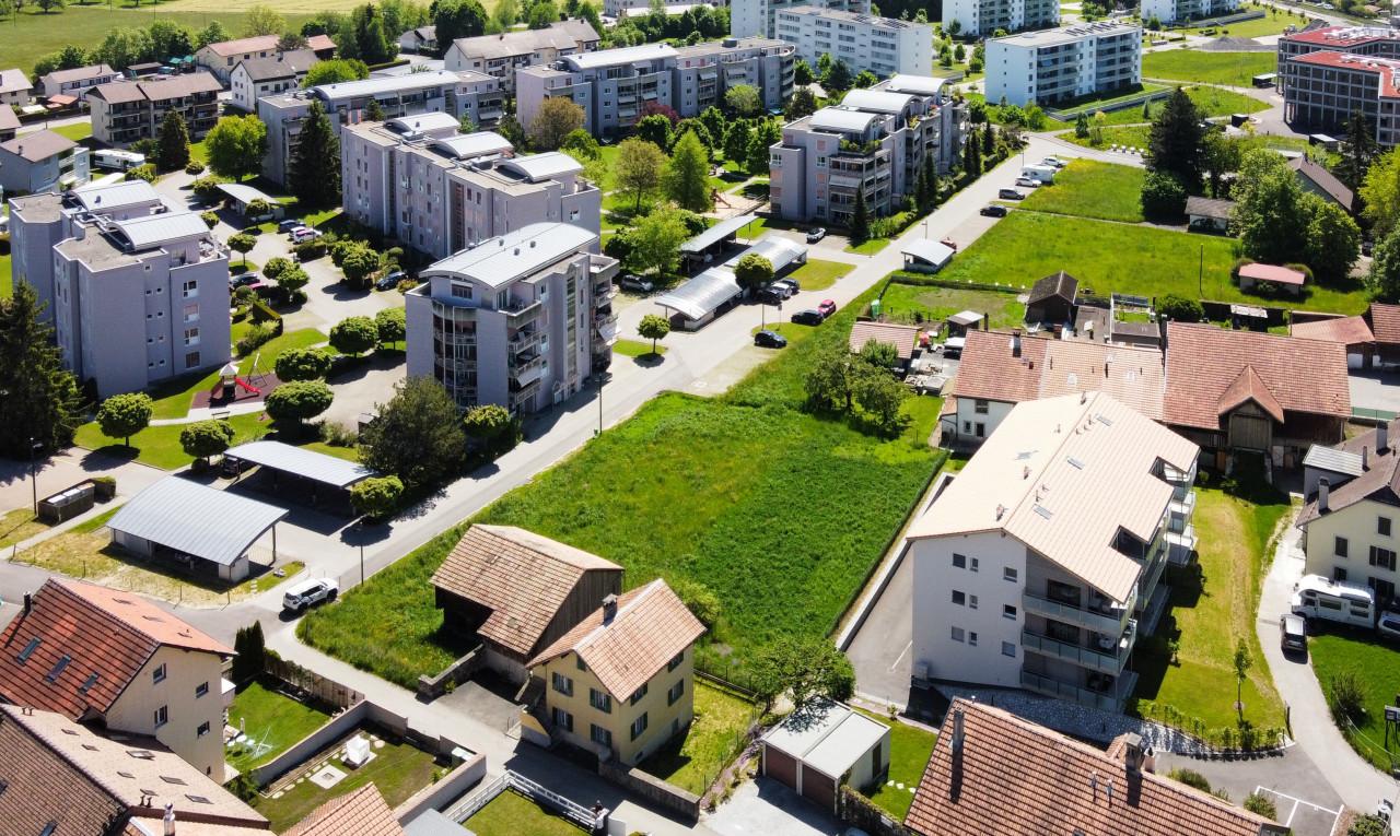 Terrain à vendre à Fribourg La Tour-de-Trême