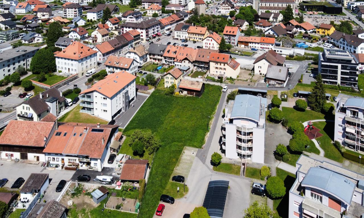 Achetez-le Terrain dans Fribourg La Tour-de-Trême