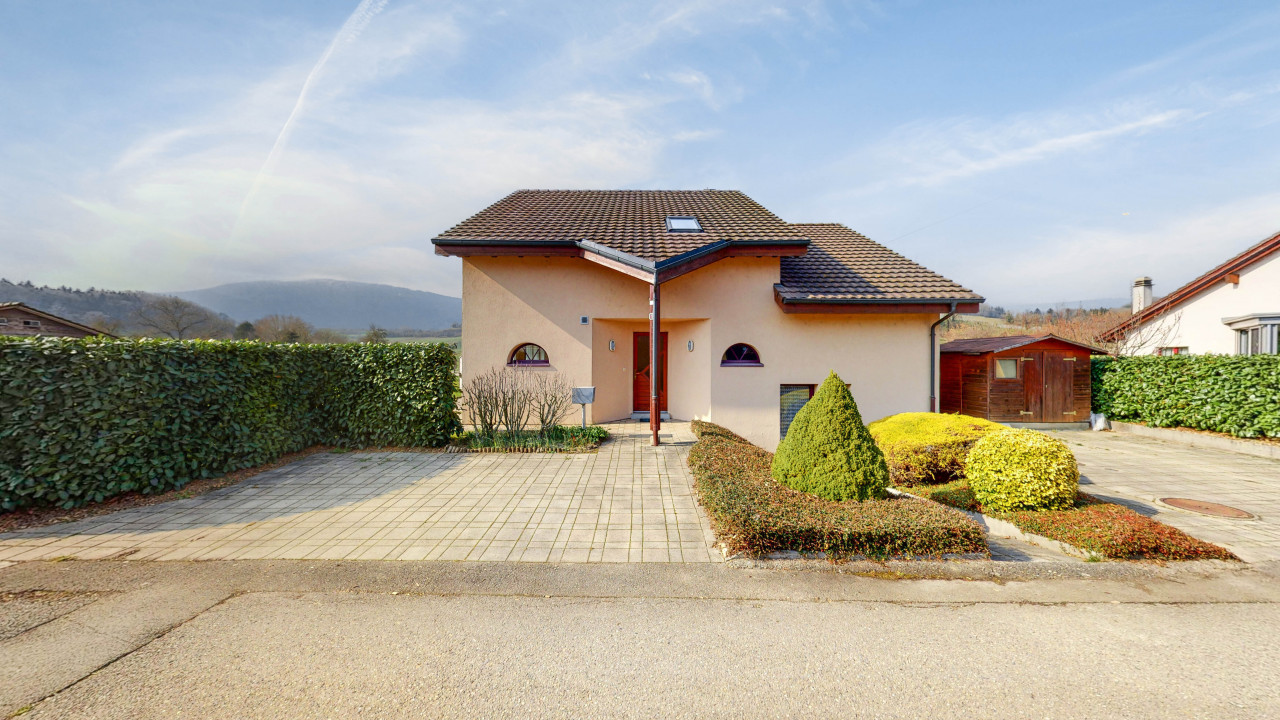 Maison individuelle à Mathod en bordure de zone agricole !