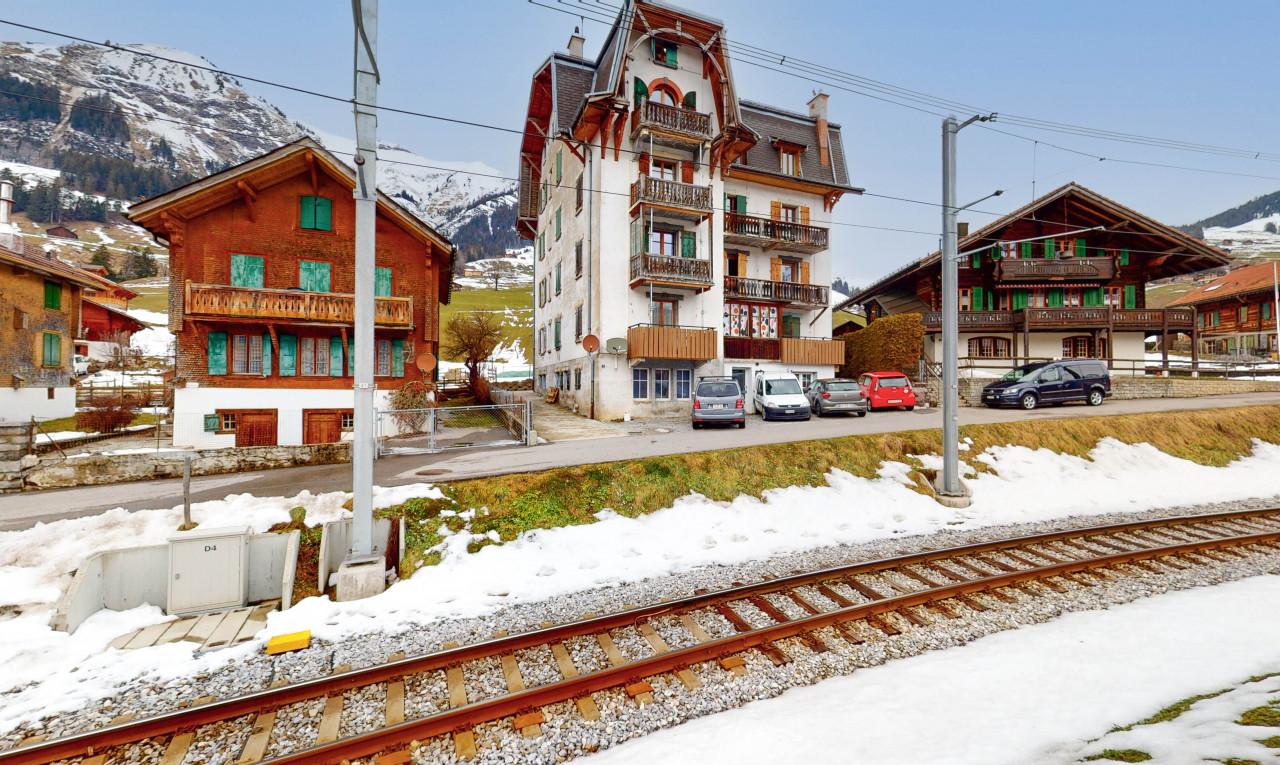 Achetez-le Immeuble de rendement dans Vaud Château-d'Oex